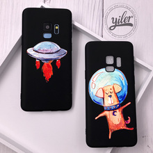 Space Dog for Funda Samsung Galaxy S10e Case Cover Shell S10 Plus S7 edge S8 Note 8 9 S9