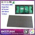 P10 SMD один красный из светодиодов дисплей 320 * 160 мм 32 * 16 пикселей p10 из светодиодов движущихся вывеска из светодиодов табло для поделок электронных наборов