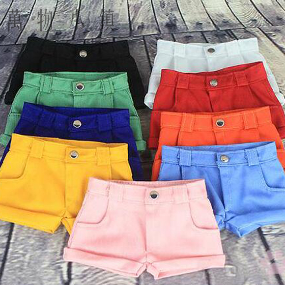 New Army green/White/Black/Red/Yellow/Pink Unisex Casual Shorts/Pants For 1/3 1/4 1/6 uncle SD MSD YOSD DD BJD Doll Clothes fashion bjd doll retro black linen pants for bjd 1 4 1 3 sd17 uncle ssdf popo68 doll clothes cmb67