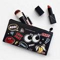 Mini Bonito da menina Cosméticos Saco de Viagem Saco de Armazenamento De Higiene Pessoal bolsa de Maquiagem Organizador Beleza Brushes Batom Casos Acessórios Suprimentos