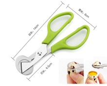 Quail eggs scissors,  stainless steel, egg cutters,