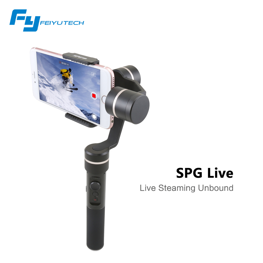 Feiyu SPG Live 360 degree Limitless Handheld Gimbal Stabilizer for Smart phones Cellphone with Protective Case F19117 очки spg premium ad063 black