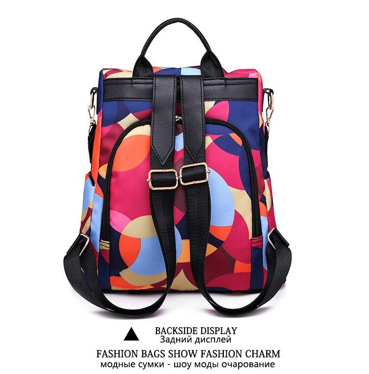 HTB13QrWe21G3KVjSZFkq6yK4XXaZ Fashion backpack women shoulder bag large capacity women backpack school bag for teenage girls light ladies travel backpack