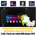 Controle de volante Android 6.0 Jogador Do Carro DVD Para B-ENZ Um-cl/ass W169 S/impressora W209 Crafter LT3 W245 Viano Vito