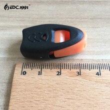 купить 50PCS E0455 Newest Whistles Nylon Outdoor Lifesaving Whistle Camping Suivival Emergency Whistle For Camping Hiking hunting по цене 1752.68 рублей