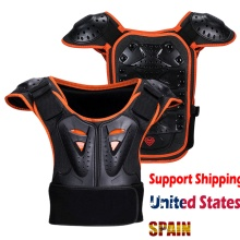 Детская Броня куртка позвоночника защита груди оборудование для мотокросса куртка для скейтбординга мотоцикл снаряжение заездов детей мотокросс