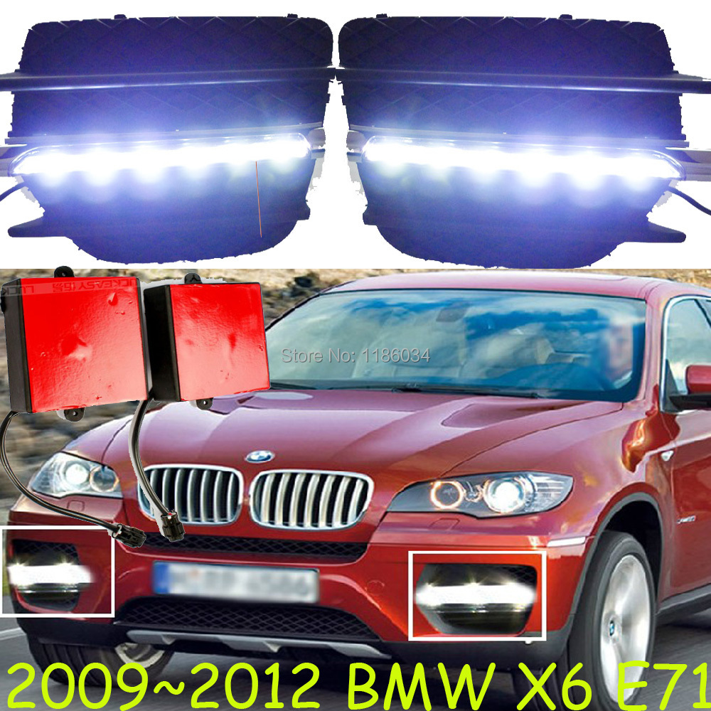 Car-styling,X6 daytime light,2009~2012,LED,Free ship!2pcs,car-detector,X6 fog light,car-covers,steering-wheel;X6,X 6 car styling gl320 gl350 gl450 x164 daytime light 2006 2009 led free ship 2pcs car detector fog light car covers x 164