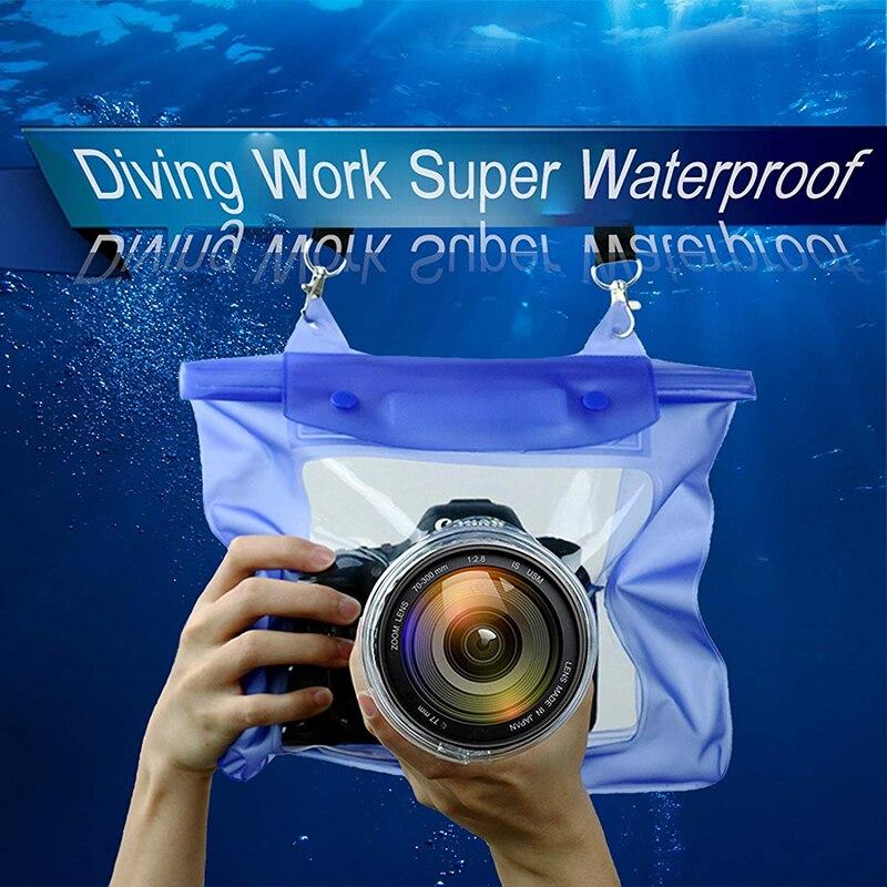 Underwater Diving DSLR Camera Waterproof Bags Video Underwater Housing Cases