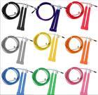 ①  9 цвет 3M стальной проволоки высокоскоростной пропуская Skip регулируемая скакалка Crossfit ①