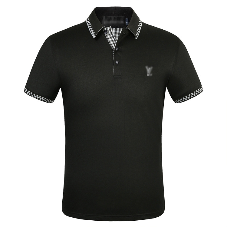 2019 New   polo   shirt men short sleeve   polos   shirts cross slim fit mens pol clothes dress bodybuilding streetwear poloshirt