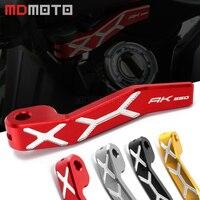 Motorcycle Accessories Hand Brake Lever Motorbike Parking Brake Levers For KYMCO AK550 AK 550 2017
