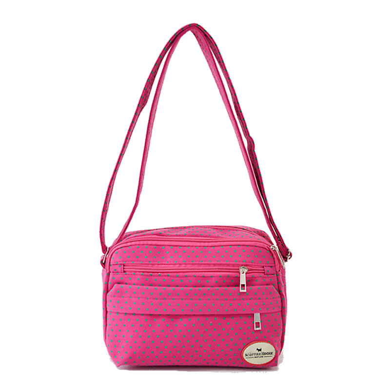 NEW Fashion Polka Dot Women Messenger Bag Korean F...