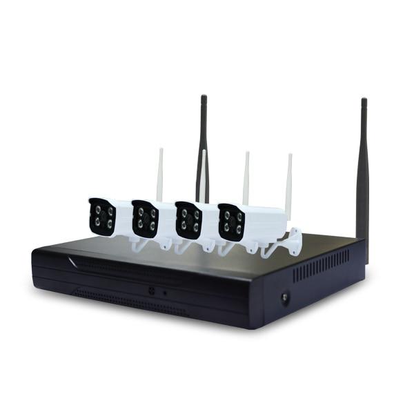 HD 4CH NVR H.264 KIT WiFi 4CH wireless camera 720P video recorder set
