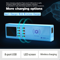 SS 309WD 8 USB ports Smart USB charger for wireless phone charging|Power Tool Sets| |  -
