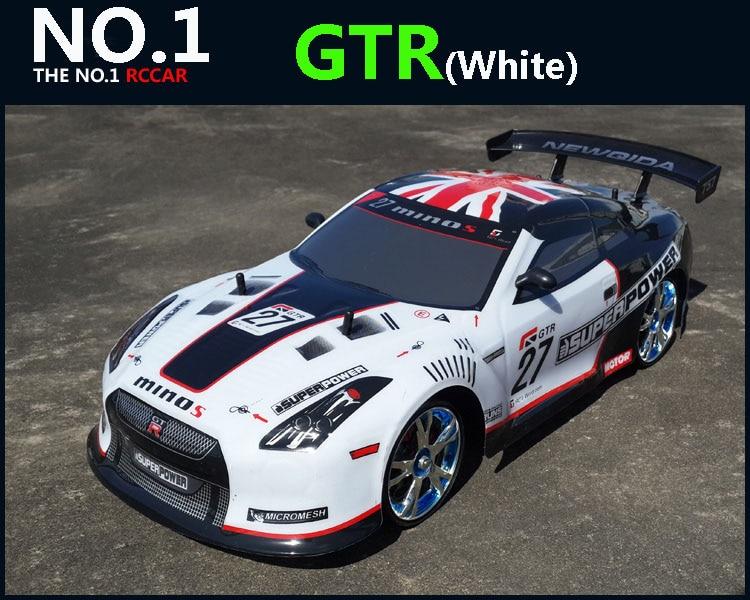 كبير RC سيارة 1:10 عالية السرعة سباق سيارة لنيسان GTR بطولة 2.4G 4WD راديو التحكم الرياضة الانجراف سباق الإلكترونية لعبة-في سيارات تعمل بالتحكم عن بعد من الألعاب والهوايات على  مجموعة 3