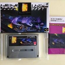 16Bit игры* рендеринг Ranger R2(Япония NTSC-J версия! Коробка+ инструкция+ картридж
