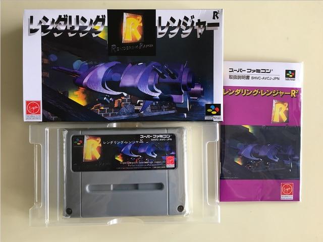 16Bit Giochi ** di Rendering Ranger R2 (Giappone NTSC J Versione!! Box + Manuale + Cartuccia!!)