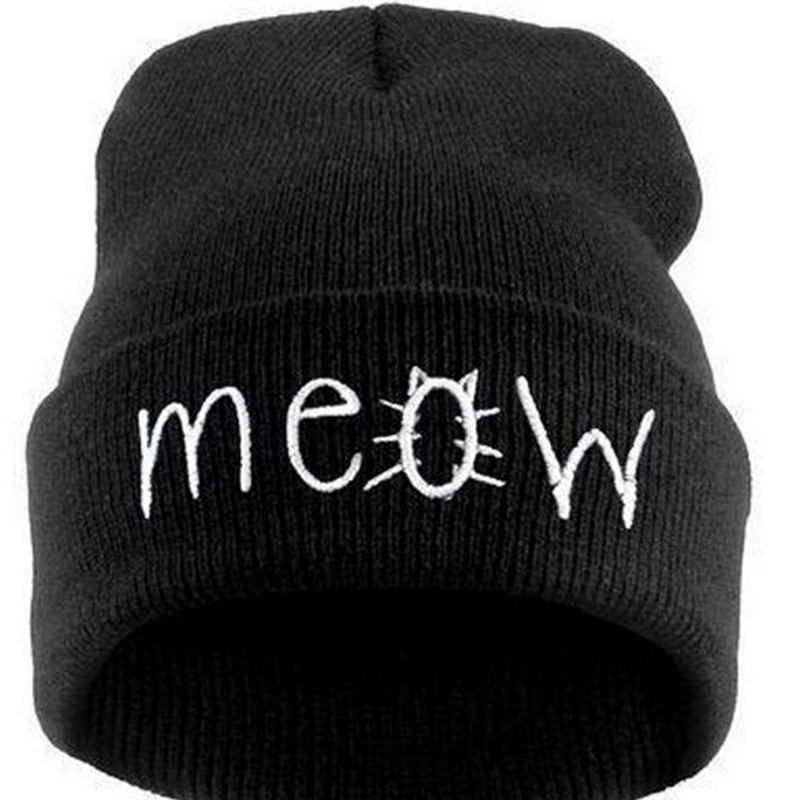 Fashion Letter Hats Gorros Bonnets Winter Cap Women Men Skullies Beanie Female Hiphop Knitted Hat Toucas winter women beanie skullies hiphop hats warm knitted wool hat buttons crochet cap bonnets femme gorros bone hat