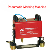 KT-QD05 Portable pneumatic marking machine 120*40MM for Automotive frame engine motorcycle Vehicle Number