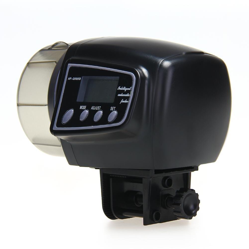 Fish tank feeder - Automatic Manual Auto Feeding Convenient Aquarium Fish Tank Food Feeder Timer Lcd Display China