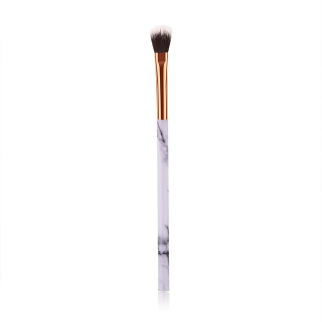1/4 Pcs Women Marble Texture Marbling Handle Eyeshadow Brush Powder Blending Concealer Makeup Cosmetic Brush Tool #273602
