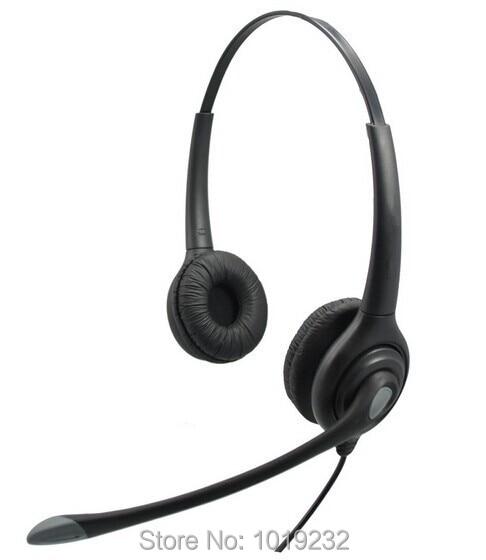 rj9 plug headset call center headset rj11 plug headset for. Black Bedroom Furniture Sets. Home Design Ideas