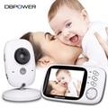 DBPOWER 2.4G Wireless 3.2 inch Electronica Wireles Baby Monitor 2 Way Audio 5M IR Temperature Lullabies Portable Com Baby Camera