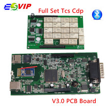2018 new arrival  10pcs/lot NEC V3.0 Board TCS CDP pro  New VCI 2014 R2/2015.R3/2015.R1 tcs cdp pro with/without  bluetooch