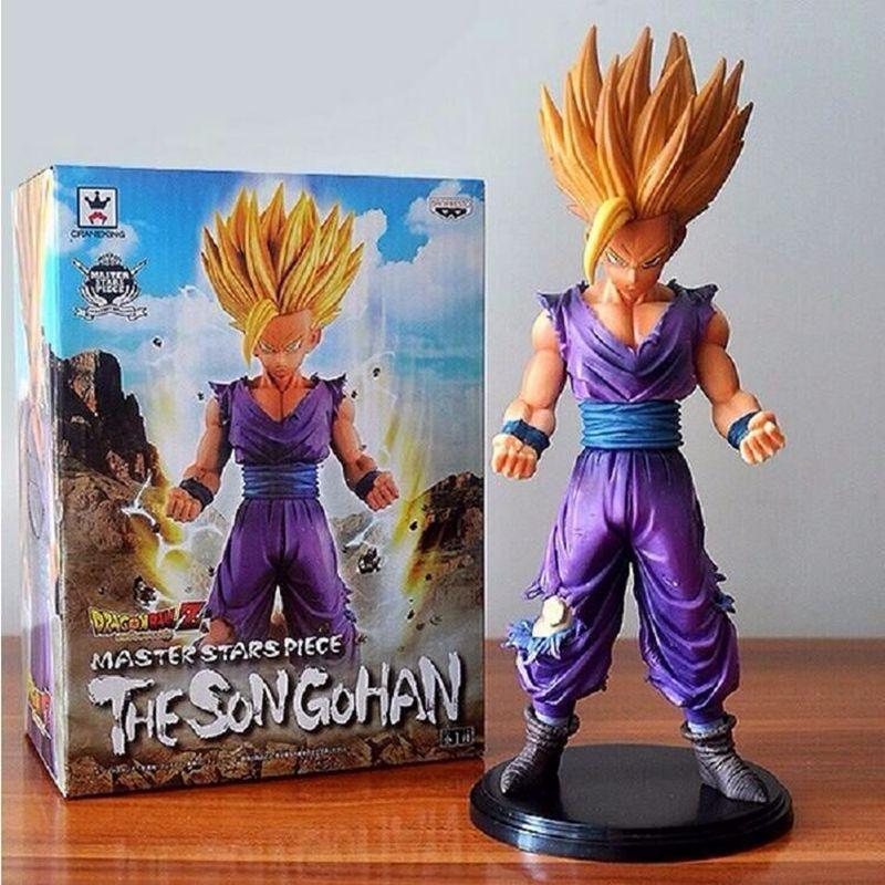 23cm Anime Dragon Ball Z Son Goku PVC Action Figures Son Gohan Super Saiyan Dragonball Z