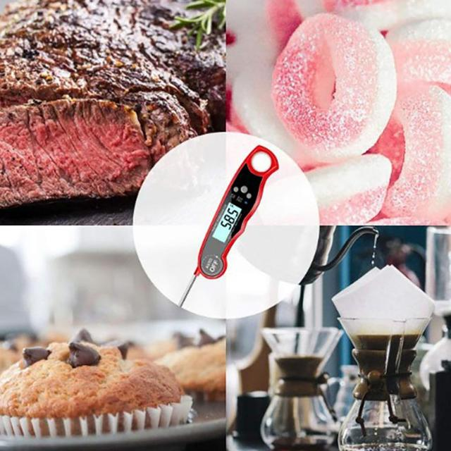 Waterproof Kitchen Food Baking Digital Meat and Cooking Thermometer