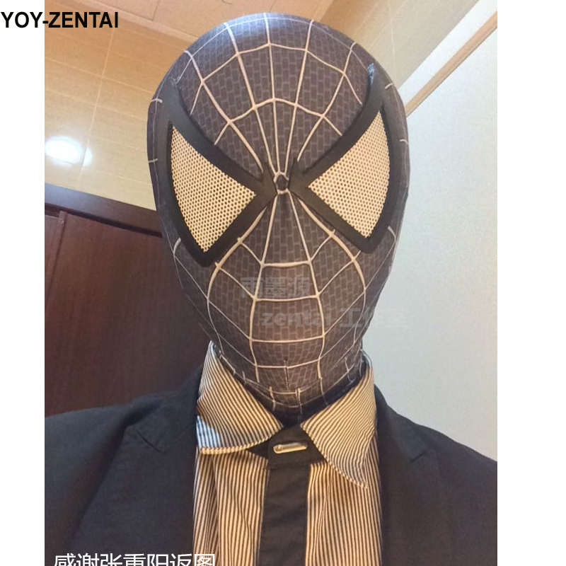 black spiderman mask - photo #33