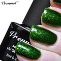 Vrenmol 1pcs Platinum Nail Gel Polish Soak Off  Plating UV/LED12 Colorful Glitter Platinum Gorgeous Manicure UV Nail