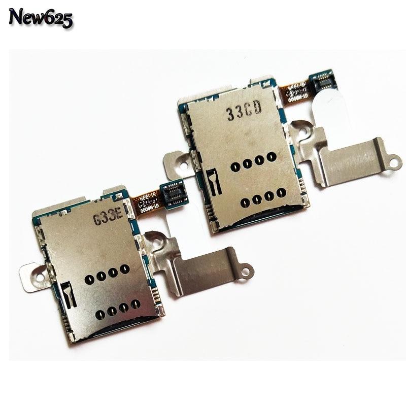10 шт./лот, новый SIM Card Reader держатель лотка Слот розетки гибкий кабель для Samsung Galaxy Note 10.1 N8000 Кабели для мобильных телефонов