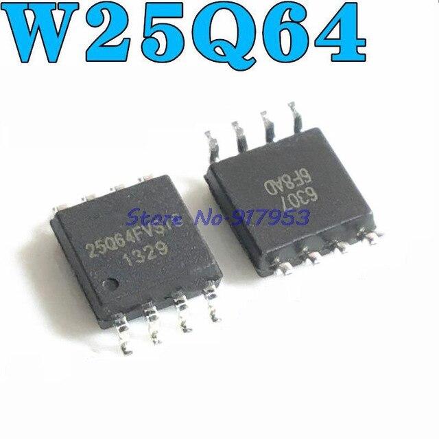 10pcs/lot W25Q64FVSSIG W25Q64FVSIG 25Q64FVSSIG 25Q64FVSIG 25Q64FVS1G W25Q64 25Q64 SOP8 New Original In Stock