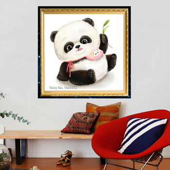3D Embroidery Beads Animals Panda Diamond Embroidery Painting Handmade Picture Of Rhinestones Diamond Mosaic Kit Hobby Crafts