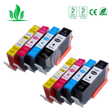 8 шт 364XL картридж совместимый для HP364 364 XL Photosmart Беспроводной B109a B109d B109f B109n плюс B209a B209c B210a принтера