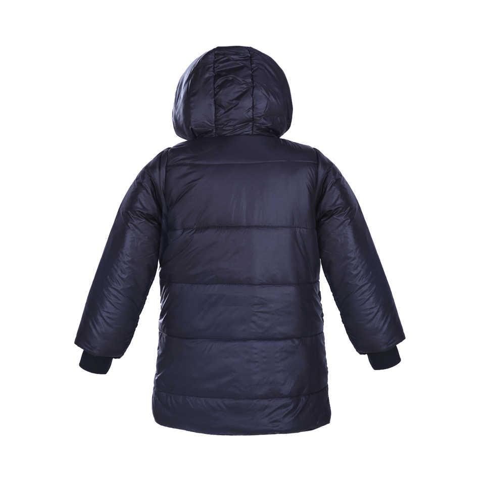 Pettigirl אופנתי חורף בני מעילים שחורים עבה צמר קטיפה מעילי יומיומי ללבוש בני בגדי OC30802-6