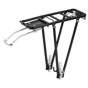Image 4 - CoolChange bicycle accessories mountain bike transporter cargo rear frame aluminum shelf bicycle rack luggage rack can be loaded