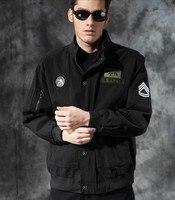 military tactical jacket for men Outdoor paratrooper 9014 black flight jacket men M XXXL