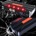 High Power Upgraded Car Jump Starter Starts Gasoline & Diesel Engine Emergency 12V Portable Power Bank Charger 4USB