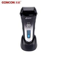 Yıkanabilir Elektrikli Tıraş Makinesi Şarj Edilebilir Elektronik LCD Ekran 4 Blade Barbeador Saç Tıraş Temizleyici Kesme Makinesi sıcak 50