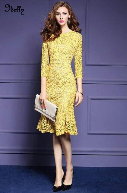 Aliexpress.com : Buy Idelly 2017 New Style Summer Dress Designer ...