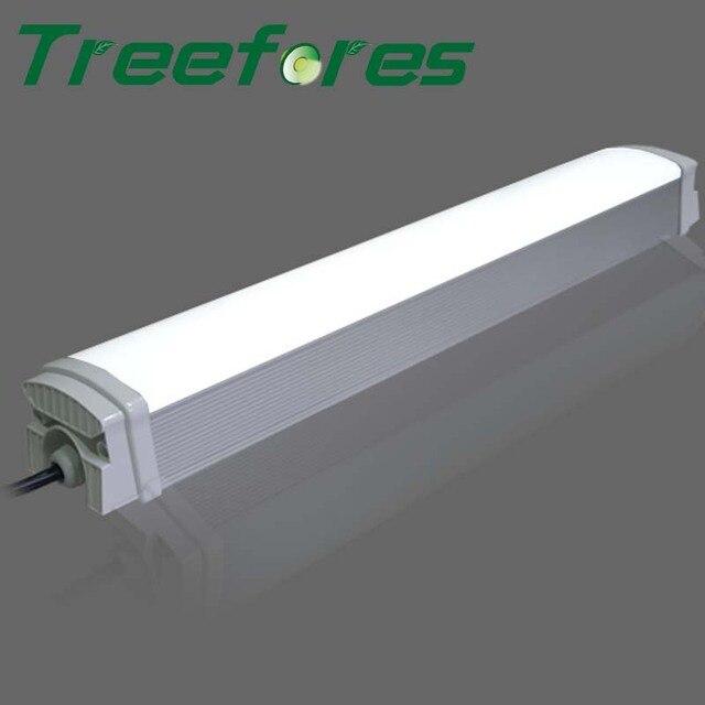 Aluminum Industrial Light T8 IP65 Tri Proof Lighting 40W 1200mm 4FT Led  Batten Tube Factory Warehouse