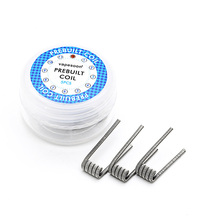 5pcs/pack newest vapesoon Panzer coil 2# premade coil for e cigarette rda fast shipping