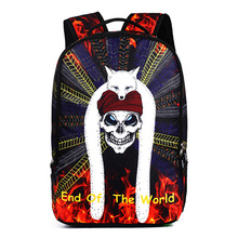 New student school bags 3d bag trend Shantou travel backpack sports mens