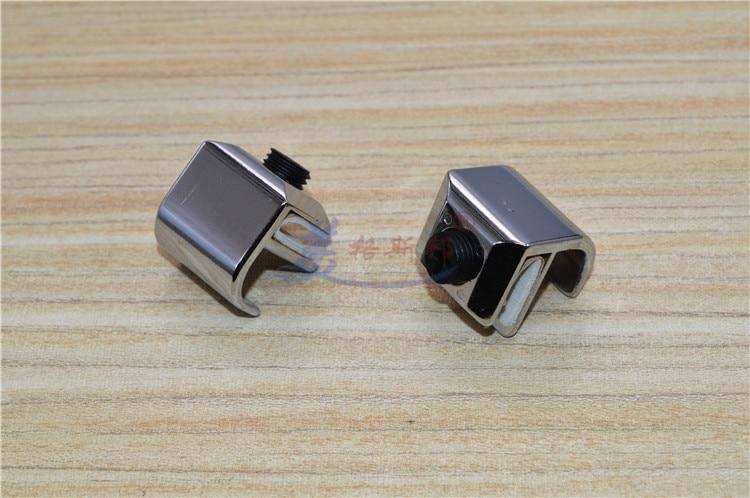 10 Stks/partij Frameloze 3-5mm Glazen Deur Handvat Pulls Knop Wijn Kast Kasten Display Showcase Saai Ree Comfortabel Gevoel