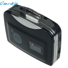 Cassette player record player portable Tape to Audio MP3 Format Converter to USB Flash Drive Nov8(China)