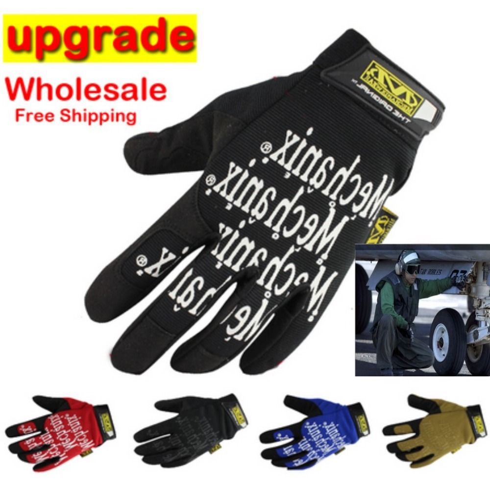 Wholesale 2019 Hot New Navy SEALs Mechanix Tactical Gloves Fashion Leisure Wild Ride Bike Motorcycle Brand Army Military(China)
