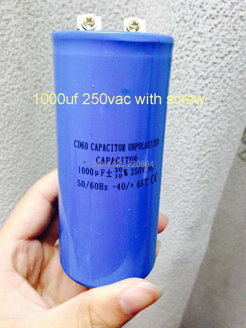 best sales capacitor 1000uf 250vac with screw *2 good package 3ne3233 3ne3 233 450a 1000 vac