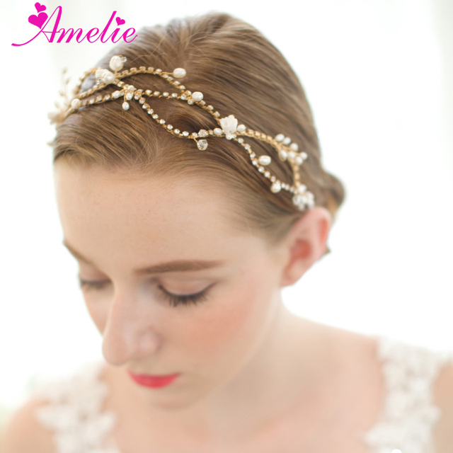 Free shipping 3pcs lot beach wedding bridal headpieces headband free shipping 3pcs lot beach wedding bridal headpieces headband bridal hair vine wedding hair accessories bridal junglespirit Images
